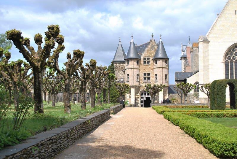 Schloss von verärgert stockbild