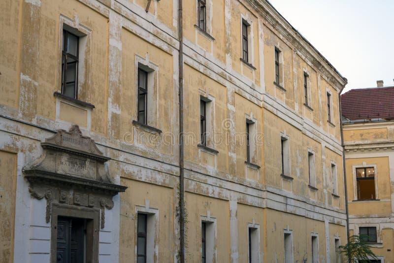 Schloss von Veszprem stockfotos