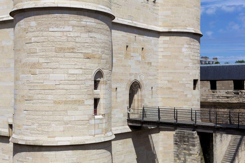 Schloss von Vincennes stockfoto