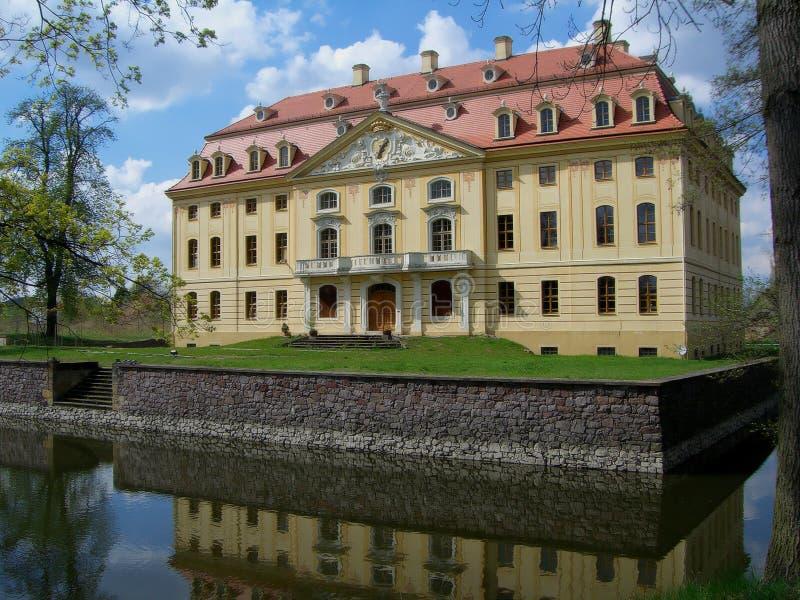 Schloss von Wachau stockbild