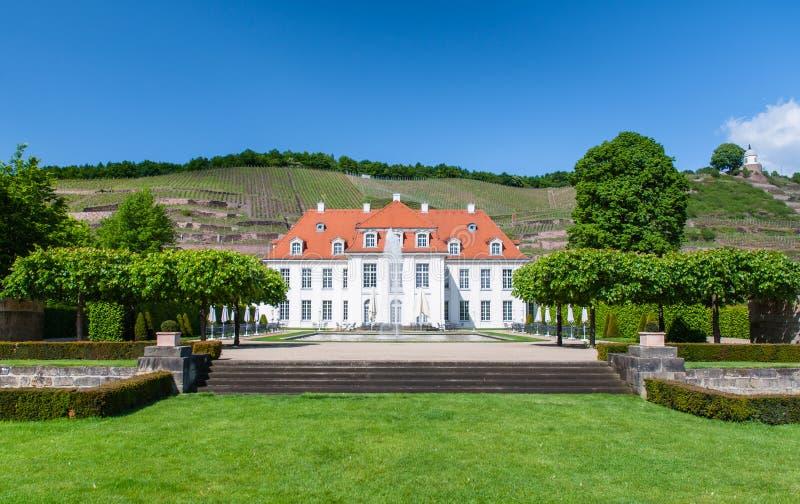 Schloss Wackerbarth, Radebeul fotografia de stock
