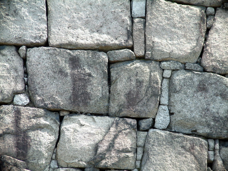 Schloss-Wand lizenzfreie stockfotos