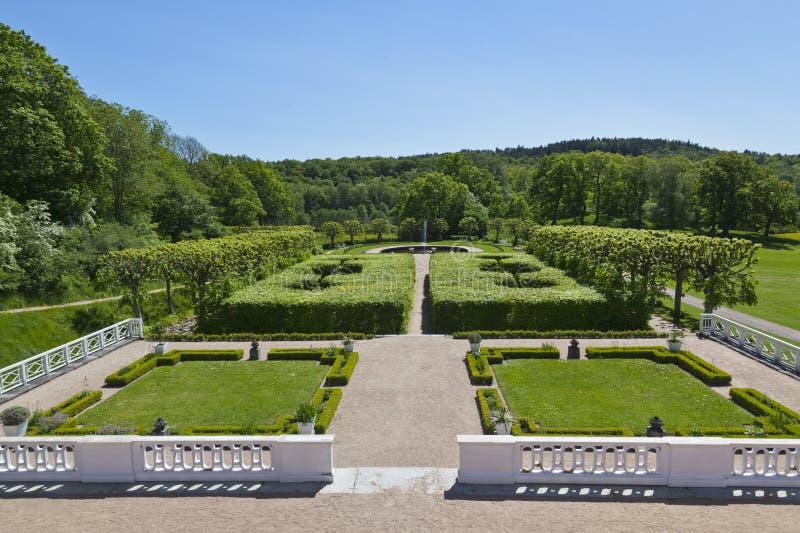 Schlossgarten lizenzfreies stockbild