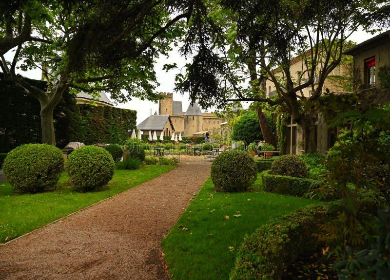 Schlossgarten lizenzfreie stockfotografie