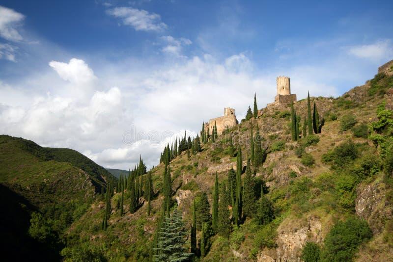 Schlosslandschaft stockbild