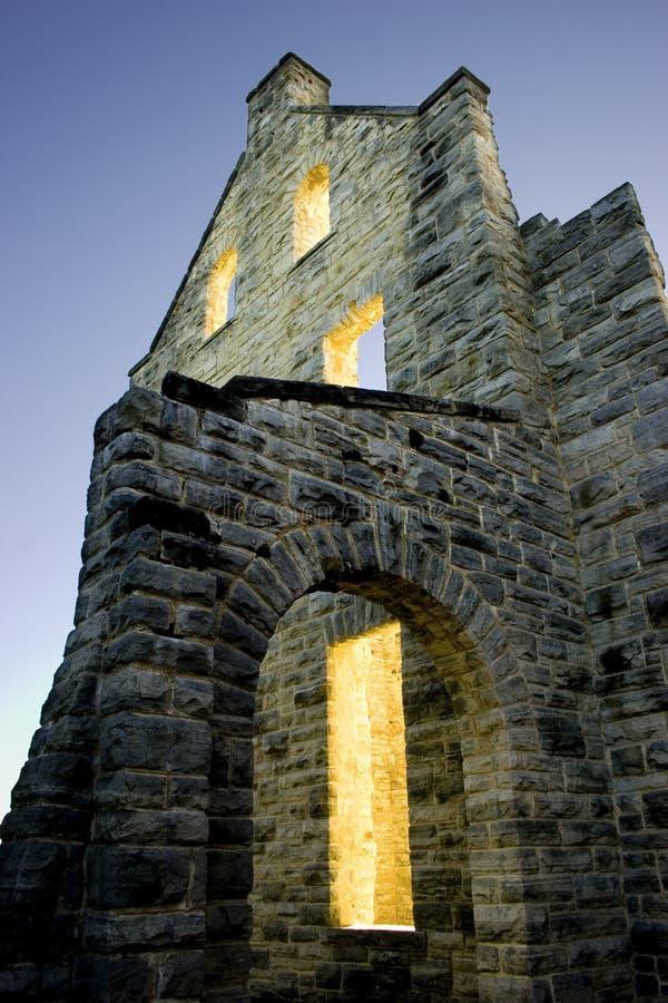 Download Schlossleuchten stockfoto. Bild von amerikanisch, historisch - 40498