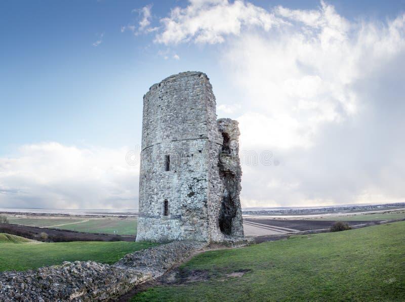 Schlossruinen in Essex lizenzfreies stockbild