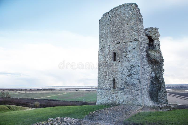 Schlossruinen in Essex lizenzfreie stockfotos