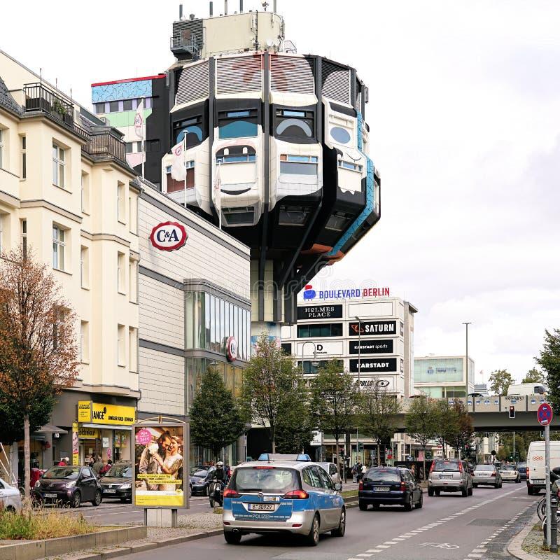 The Schlossstraße In Berlin-Steglitz Editorial Stock Photo - Image ...