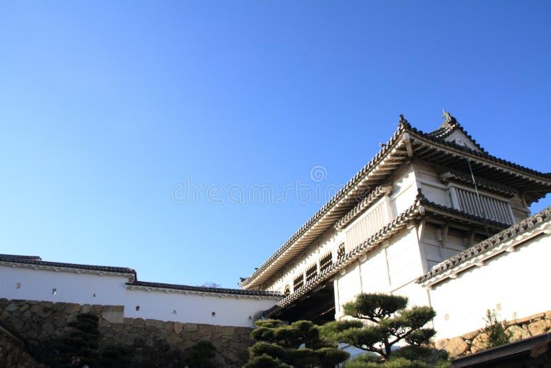 Schlosstor von Himeji-Schloss in Himeji stockfotografie