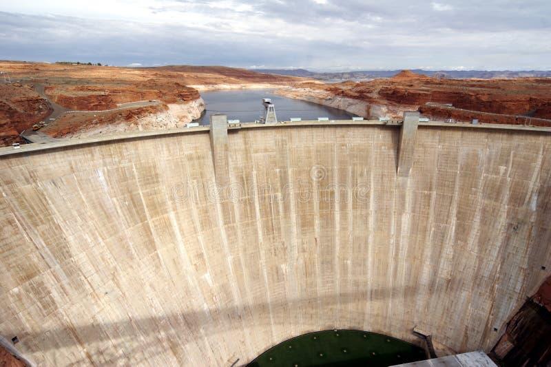 Schlucht-Schlucht Staudamm lizenzfreie stockfotos