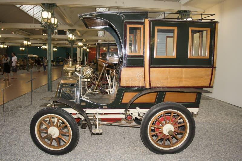 Schlumpf Car Collection, at Cité de l`Automobile National Museum in Mulhouse, Alasace France. La. Mulhouse, France 10 -15-2018. Schlumpf Car Collection, at stock image