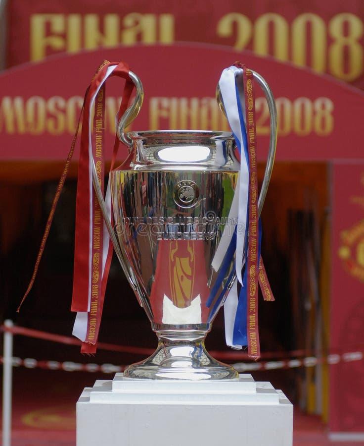 Schluss UEFA-Champions League Moskau 2008 stockfotos