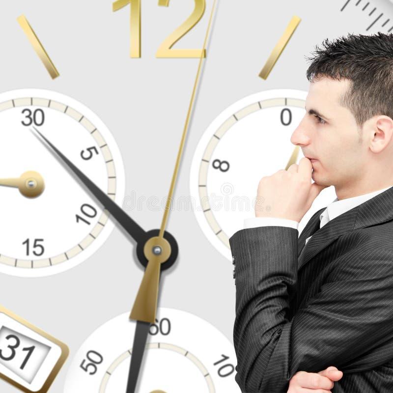 Schlusse Zeit und Geld lizenzfreie stockfotos