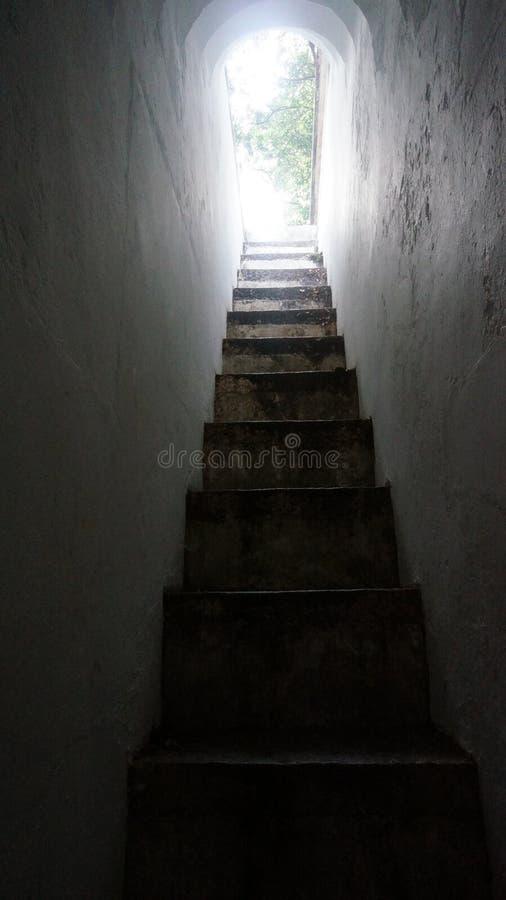 Schmale Treppe 01 stockbilder