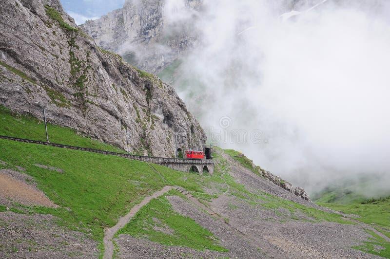 Schmalspureisenbahn. stockbilder