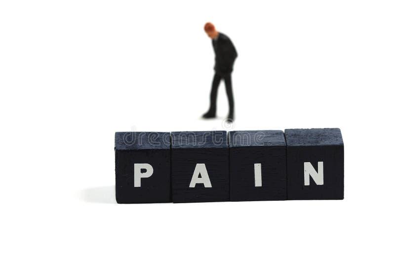 Schmerz stockfotografie
