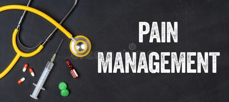 Schmerzen Sie Management stockbild
