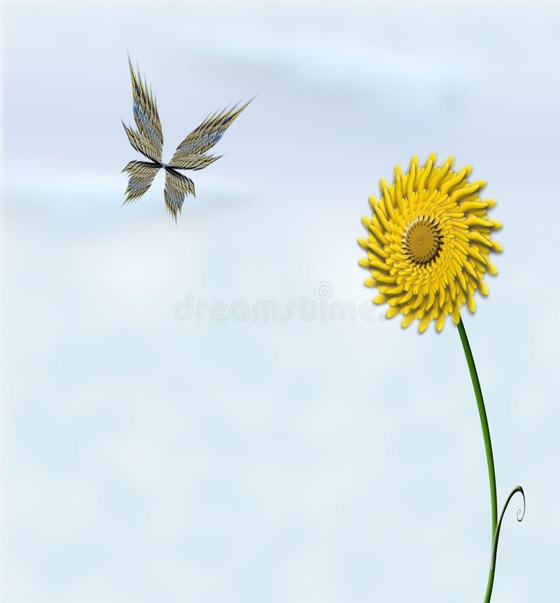 Schmetterling illustration libre de droits