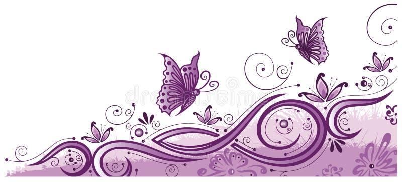 Schmetterlinge, Sommer stock abbildung