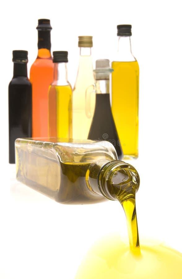 Schmieröl-Flaschen lizenzfreies stockbild