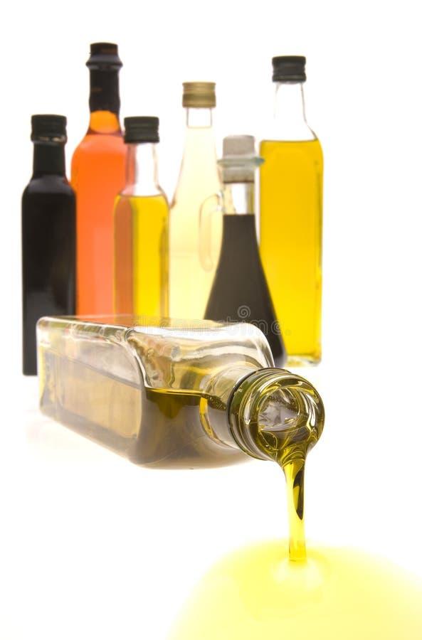 Schmieröl-Flaschen lizenzfreie stockbilder