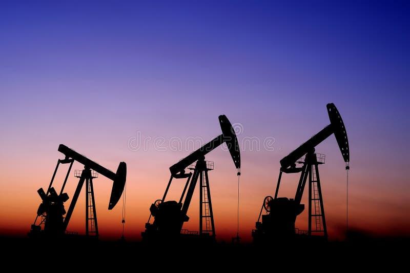 Schmieröl und Gas stockfotos
