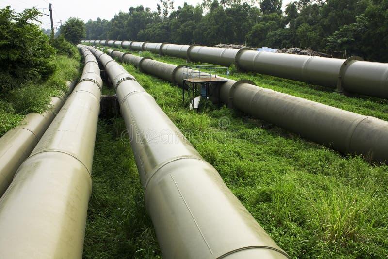 Schmieröl-und Gas-Industrie stockbild