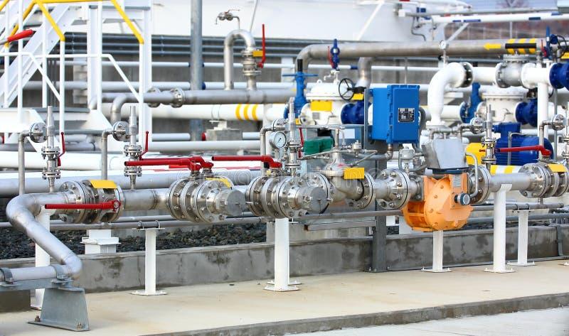 Schmieröl- und Gasausrüstung lizenzfreie stockfotografie