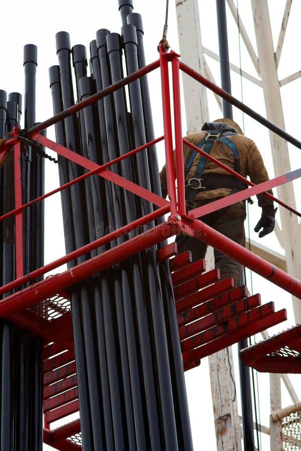 Schmierölarbeitskraft auf Gestell lizenzfreie stockbilder