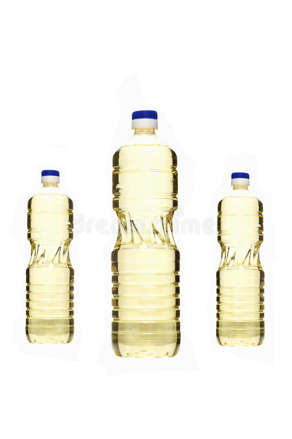 Schmierölflaschen lizenzfreies stockfoto
