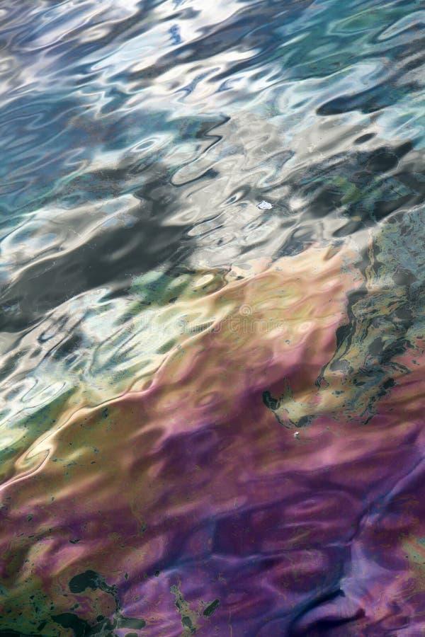 Schmierölverunreinigung stockbild