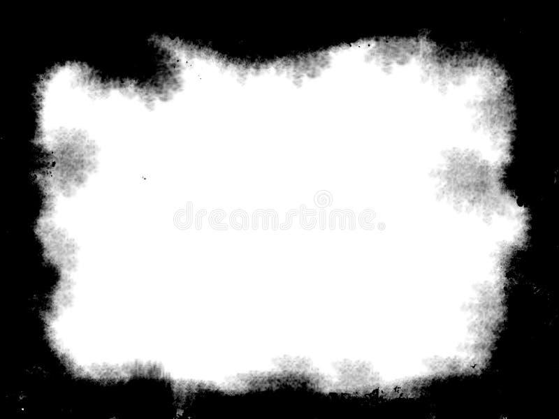 Schmutz-Grenze oder Rahmen Schmutzfotorand stockfotografie