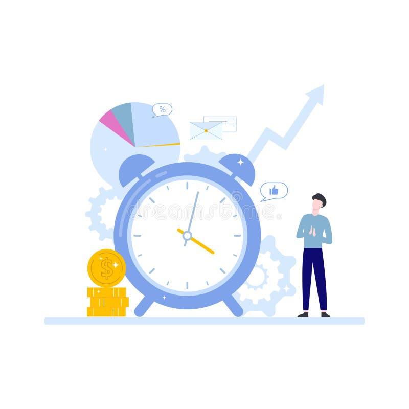 Schmutz-Hintergrund f?r Ihre Ver?ffentlichungen Idee des Zeitplanes und der Organisation stock abbildung