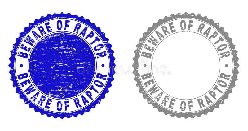 Schmutz PASST vom RAUBVOGEL maserte Stempelsiegel auf lizenzfreie abbildung