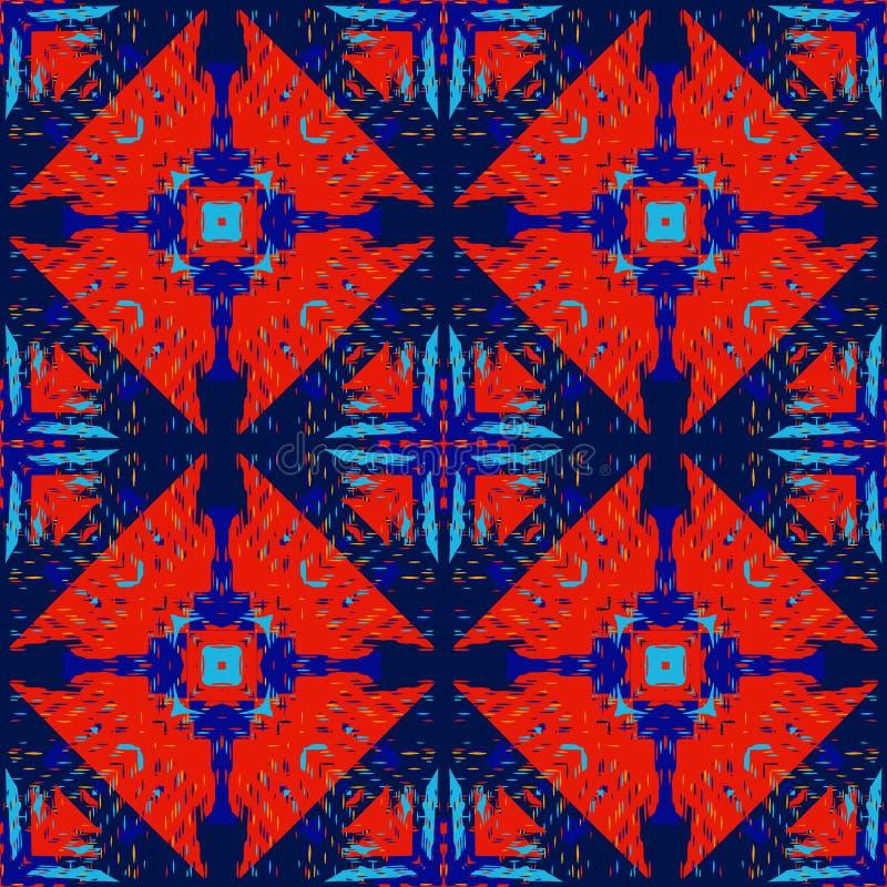 Schmutz Stammes- wie Quadrat stock abbildung