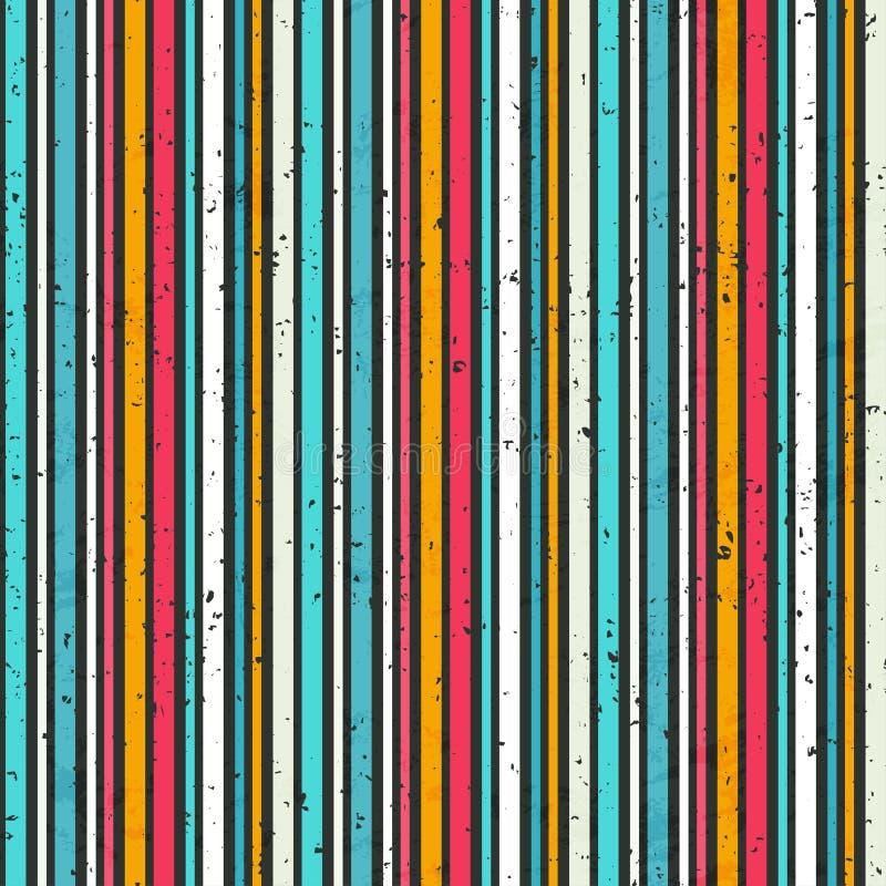 Schmutz streift nahtloses Muster lizenzfreie abbildung