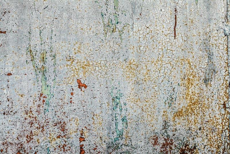 Schmutz verrostete Metallbeschaffenheit, Grau oxidierter Metallhintergrund Alte Metalleisenplatte Graue metallische rostige Oberf lizenzfreie stockbilder