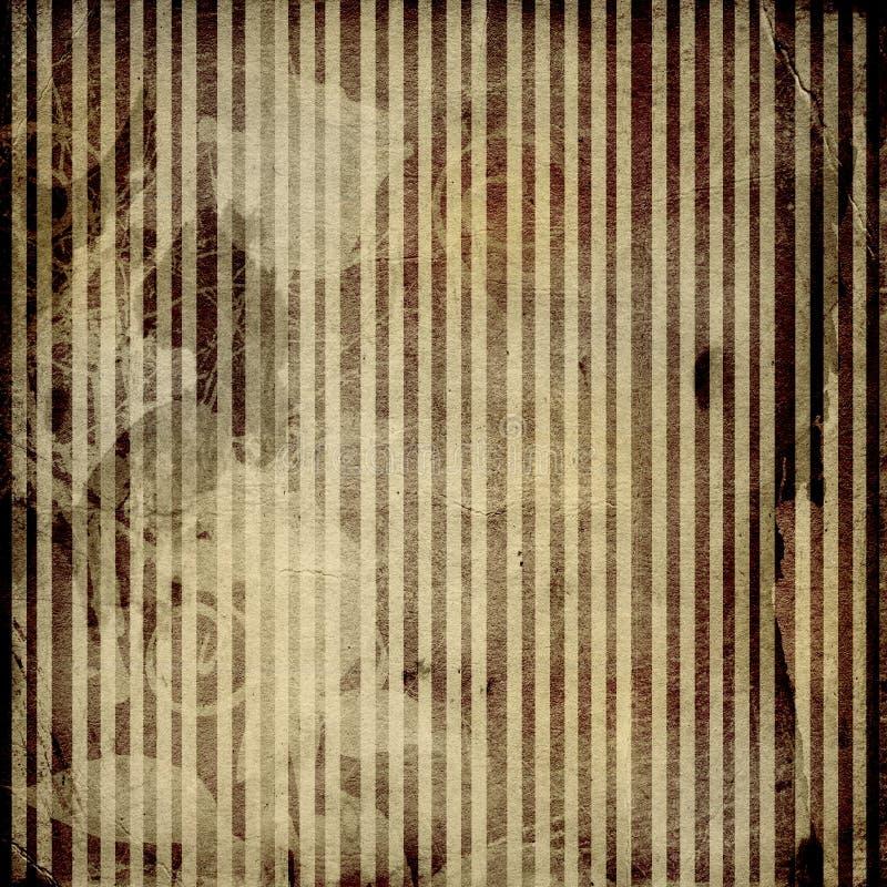 Schmutz zerknitterte Papierauslegung vektor abbildung