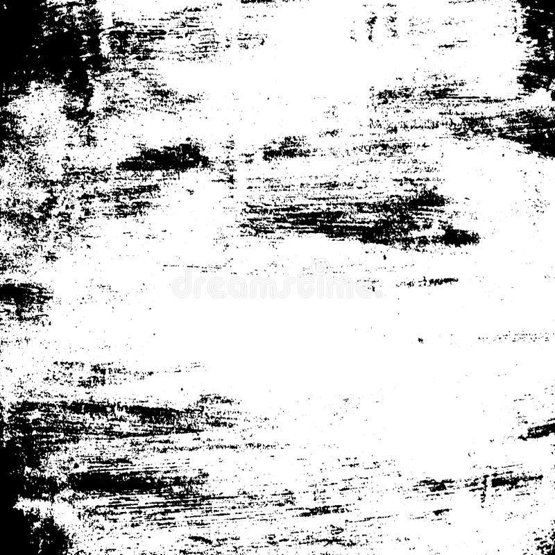 Schmutzbürstenbeschaffenheitsschwarzweiß lizenzfreie abbildung