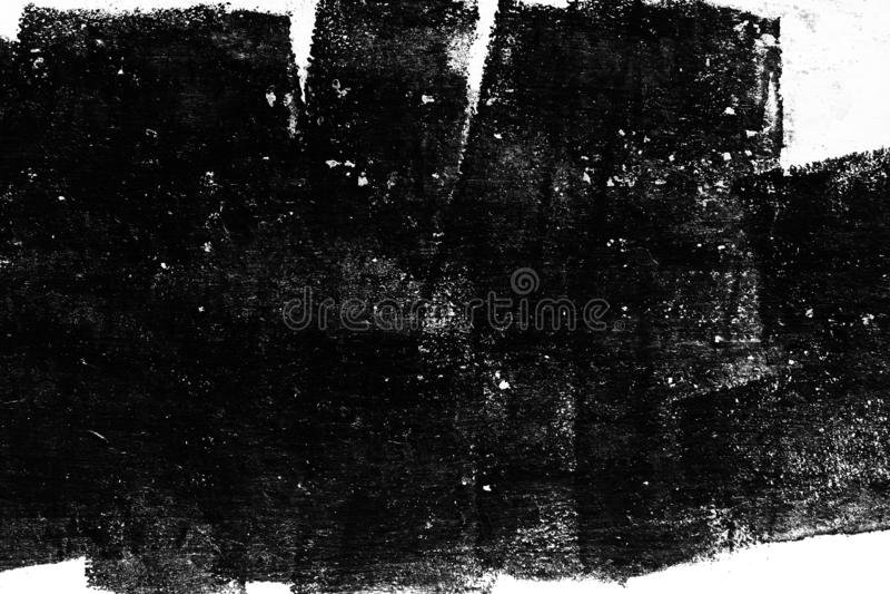 Schmutzbeschaffenheit, abstrakter Schwarzweiss-Hintergrund lizenzfreie stockbilder