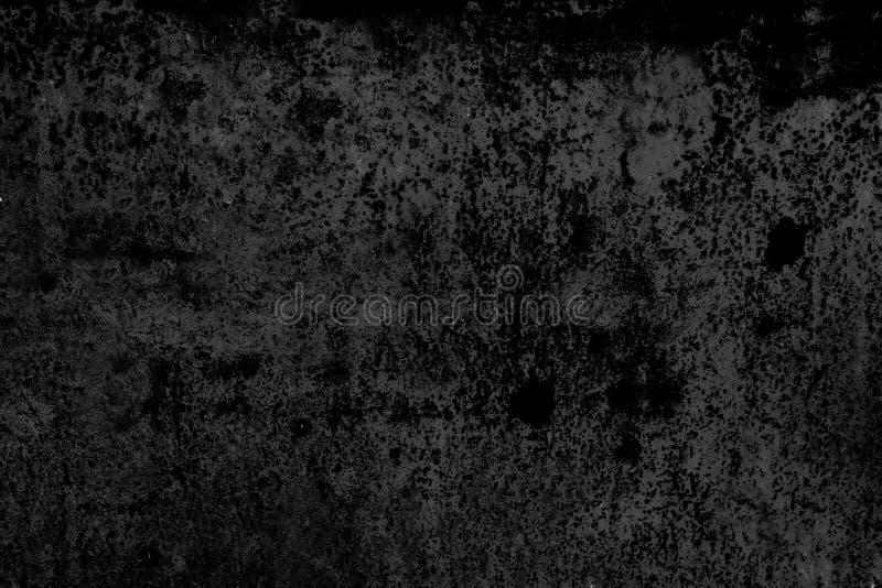 Schmutzbeschaffenheit, abstrakter Schwarzweiss-Hintergrund stockfotografie