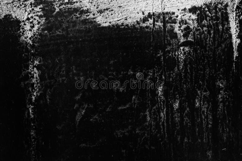 Schmutzbeschaffenheit, abstrakter Schwarzweiss-Hintergrund lizenzfreie stockfotografie