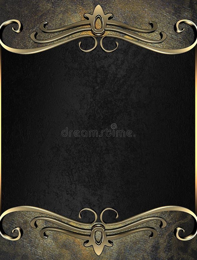 Schmutzbeschaffenheit mit eleganter Tablette für eine Aufschrift Schablone für Entwurf kopieren Sie Raum für Anzeigenbroschüre od lizenzfreie abbildung