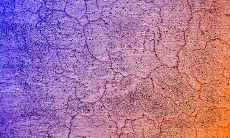 Schmutzhintergrund oder -beschaffenheit mit Kratzern und Sprüngen Schmutziger rauer Schmutzhintergrund der Zementwandbeschaffenhe lizenzfreie stockbilder