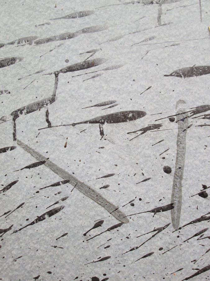 Schmutzige graue Wandfarbe lizenzfreies stockbild
