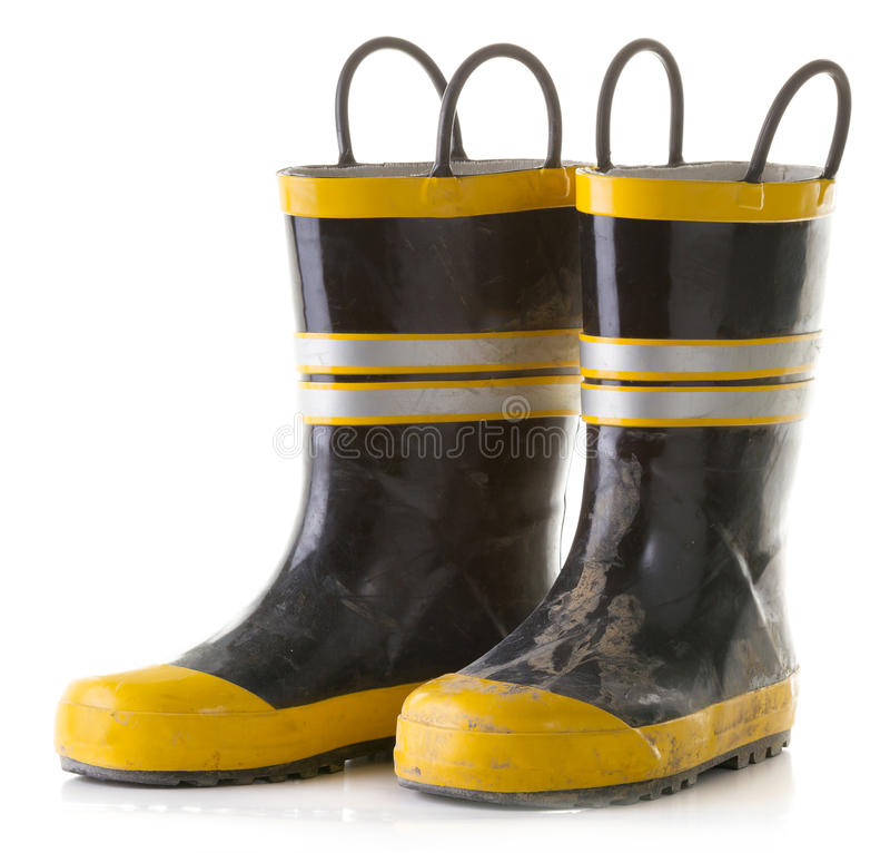 Regen-Stiefel stockfoto