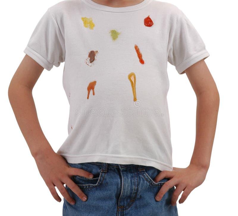 Schmutzige Kleidung. stockfoto
