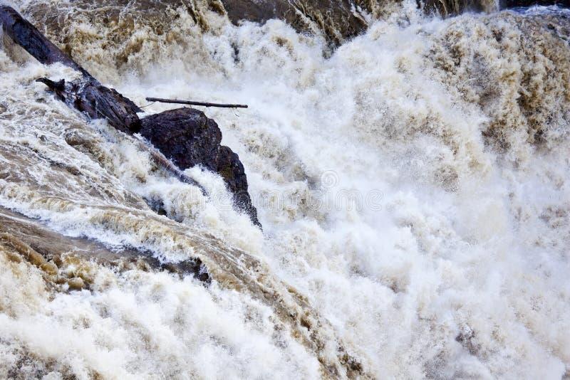 Schmutziger Wasserfall Washington BrüllensSnoqualme lizenzfreie stockfotografie
