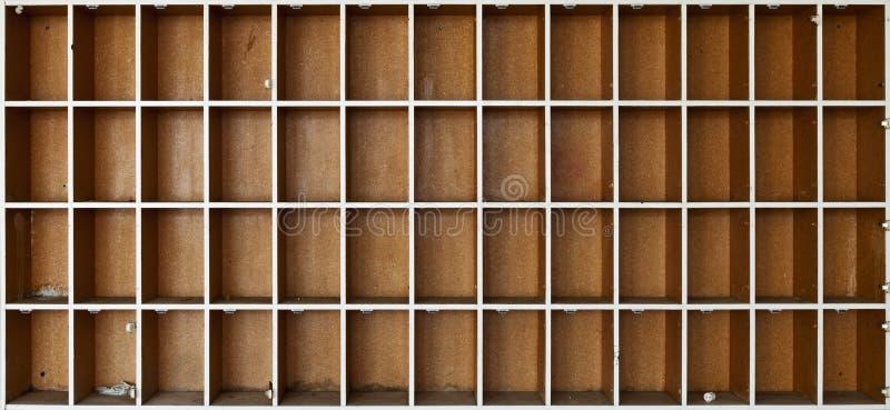 Schmutziges Regal lizenzfreie stockfotografie